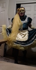 Green-Yellow 1 (Maid Honey) Tags: sissy maid