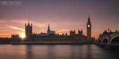 Westminster Sunset (Mike-Hamilton Photography) Tags: westminster parliament sunset longexposure riverthames river london sight touristattraction tourist bridge canon7d canon colour sky bigben