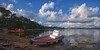 (017/17) Mª Celeste (Pablo Arias) Tags: pabloarias photoshop nxd cielo nubes españa barca mar agua océano ría atoxa isla latoja ogrove pontevedra comunidadgallega