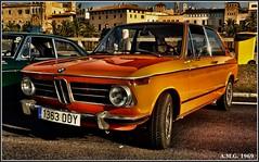 # B.M.W. 2002 Tii Touring (1966 - 1977) (A.M.G.1969) Tags: amg amg1969 aplicacióndelacámara bmw car clasicos coches 2002 serie2 exposiciones naranja