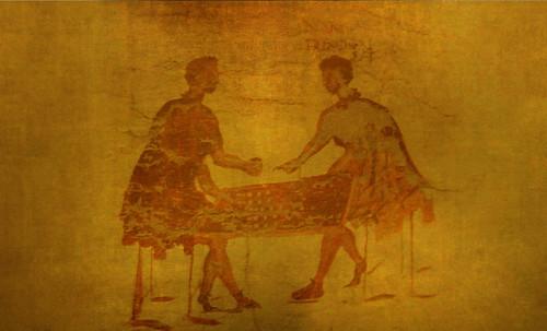 "Petteia - Ludus Latrunculorum  / Iconografía de las civilizaciones helenolatinas • <a style=""font-size:0.8em;"" href=""http://www.flickr.com/photos/30735181@N00/32143094320/"" target=""_blank"">View on Flickr</a>"