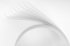 Just white paper (hjuengst) Tags: macromondays macro white paper justwhitepaper hmm abstract minimalism