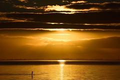 I See Fire (Nikonphotography D750) Tags: wremen nordsee sonnenuntergang sunset meer himmel wasser northernsea goldenskies sunsetbythesea abendstimmung eveningmood goldensunset