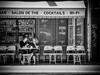 Coffee in Paris. (kitchou1 Thanx 4 UR Visits Coms+Faves.) Tags: bw cityscape eté europe exterior france landscape monochrome nb paris people season street summer world saison