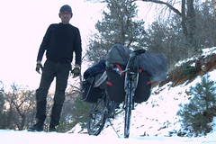 20161226_155851_1_v1 (philnik) Tags: person man me cyclist travel touring bicycle snow