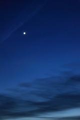 Abendstern - Evening star (Rüdiger Stehn) Tags: 2000er 2000s 2017 europa mitteleuropa deutschland norddeutschland schleswigholstein altenholz altenholzstift stern himmel wolken abendhimmel abendstern venus canoneos550d