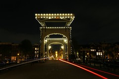 IMG_1356 (AndyMc87) Tags: amsterdam light lighttrails lightstreams bridge amstel bike bicycle ilumination night outdoor canon eos 6d 2470 city street
