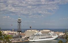 Tu Barcelona - mi Barcelona.... (svet.llum) Tags: barcelona catalunya cataluña mar mediterráneo arquitectura ciudad verano puerto port barco paisaje