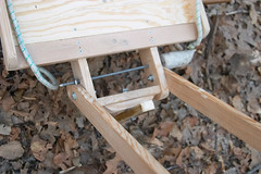 Folding handle detail (jos47) Tags: redoak treeclimbing winterclimbing winterclimb