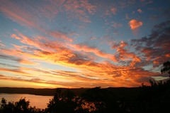 Pittwater Sunset (iansand) Tags: sunset sky evening australia nsw pittwater clareville iansand