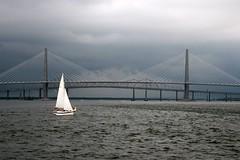 Ravenel Bridge, Charleston, SC (Bill in DC) Tags: 2005 sc southcarolina bridges charleston eos20d ravenelbridge