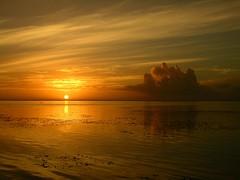 Tahiti.2004-12-09.0047 (DigitalTribes) Tags: travel sunset sky orange sun 2004 water island polynesia dusk tropical tahiti dt tahitian digitaltribes markoneil