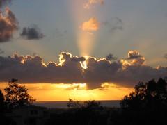 Sun Ripped Cloud (OaklandNative) Tags: california sunset favorite cloud nature water ray sandiego