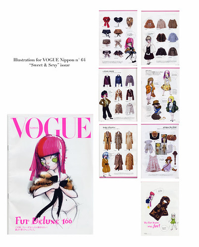 Fafi for Vogue Nippon / chuvaness