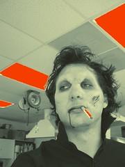 Vampire Smoking