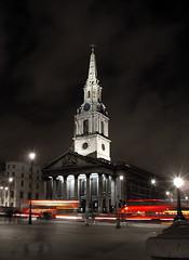 St Martin-in-the-fields (bobo.ling) Tags: uk london church night 1025fav britain trafalgarsquare 2006 stmartin 110fav stmartininthefields phaif
