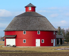 Lovely Round Barn