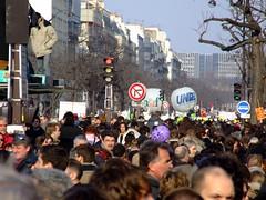 Dense cit (Seb* [aka *]) Tags: paris france greve manifestation cpe