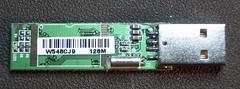 usb flash drive: bagian depan