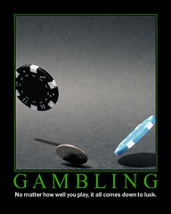 Gambling (LexiJoy) Tags: gambling coin fdsflickrtoys motivator chips poker change gamble bet texasholdem holdem pokerchips sparechange