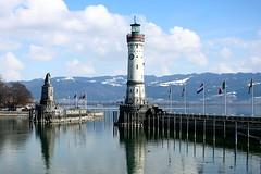 Lake Constance - Germany (Kecko) Tags: lighthouse lake germany geotagged deutschland see harbor europe harbour kecko lindau 2006 hafen bodensee leuchtturm lakeconstance superbmasterpiece swissphoto flickrelite geo:lat=47543278 geo:lon=9681267