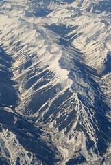 Colorado Rockies (airnos) Tags: mountains colorado aerial rockymountains diagonals pacificnorthwesttrip