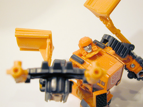 Robots In Disguise Wedge - closeup