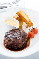 steak & chips (Paul Gosney) Tags: food australia 2006 chips steak paulgosney acmp paulgosney