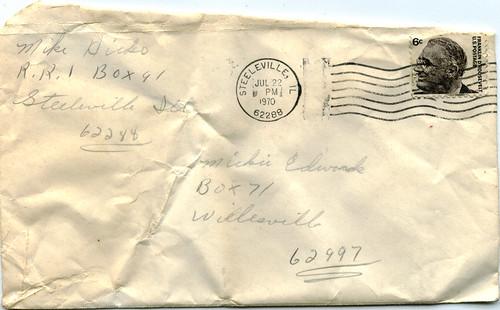 letter envelope to from. Found: Love Letter -- Envelope