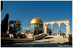 Dome of the Rock (matanw1) Tags: temple israel islam jerusalem domeoftherock arabic mount holyplaces