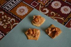 Double Peanut Crackers (Dan Zen) Tags: food nuts peanut inventions cracker recipes peanutbutter concoctions