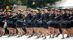 Girls in Uniform (RobW_) Tags: girls coastguard 510fav greek march uniform 2006 athens parade used greece elsewhere syntagma mar2006 25mar2006 limenarcheion
