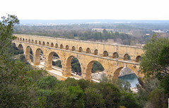 Pont du Gard - by Sean Munson