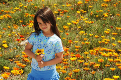 Spring has sprung (fd) Tags: family flowers portrait spring daughter themecompetition sb800 tccomp058 lightproofboxcom