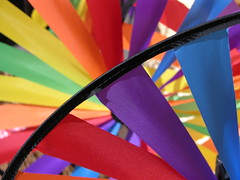 Colour wheels (Dancing Fish) Tags: windmill beautiful topv111 rainbow topv333 topc50 colourful colourwheel notpicked