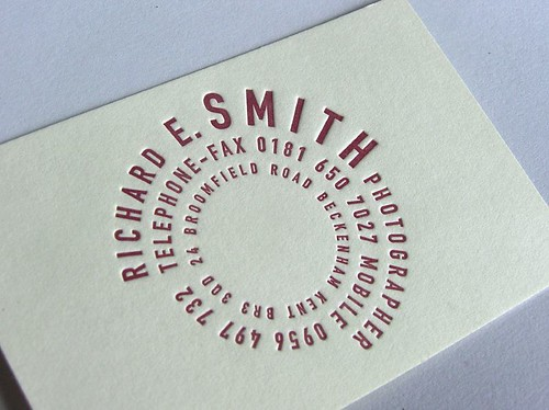 Визитные карточки design