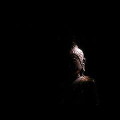 Mr B. (Yorick...) Tags: thailand buddha philosophy blackground yorick