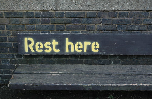 rest here by estherase, on Flickr