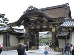 Ninomaru Gate (ubersaurus) Tags: japan kyoto nijo