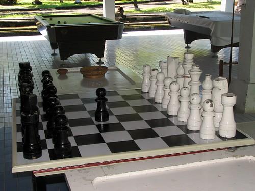 Huge chessboard