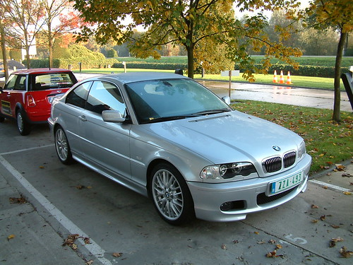 BMW 320cd with M-pack