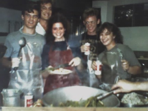 1989 - dinner cook at 21st St. Co-op