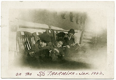 SS Taormina Jan 1922 (carrie de azevedo) Tags: italy 1922 pauline