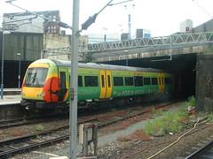 DSCF0037 (Matthew Black) Tags: uk england train birmingham europe chinatown unitedkingdom gb westmidlands birminghamuk midlands digbeth turbostar dmu birminghamnewstreet dieselmultipleunit