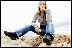 passing by (sam b-r) Tags: cigarette smoking daniela malaga s61355722 sambrimages