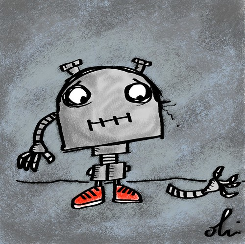 Illustration Friday: Robot