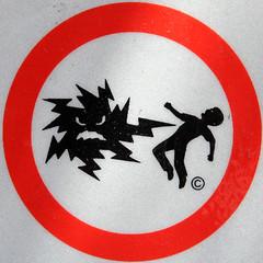 Danger of electrocution