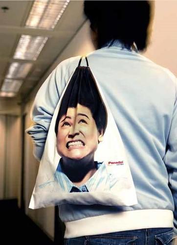 Panadol Bag Advertising