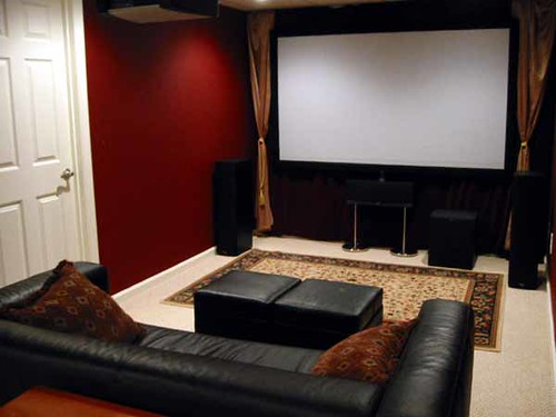 Movie Room: Front View