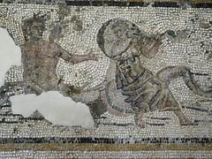 Mosaics from Halicarnassus 12 (mharrsch) Tags: england london tile floor mosaic britishmuseum tessarae halicarnassus mharrsch